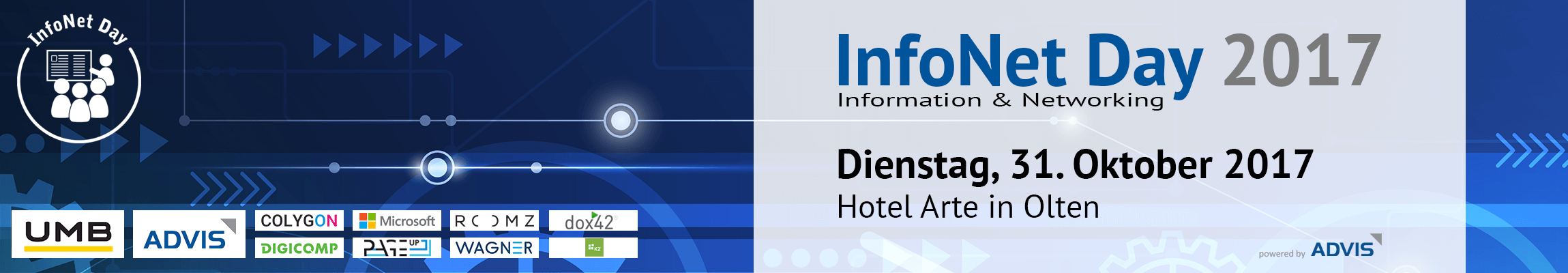 InfoNet Day Header