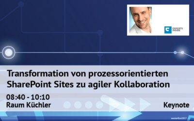 Transformation von prozessorientierten SharePoint Sites zu agiler Kollaboration
