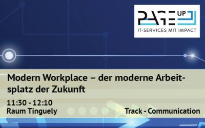 Modern Workplace – der moderne Arbeitsplatz der Zukunft