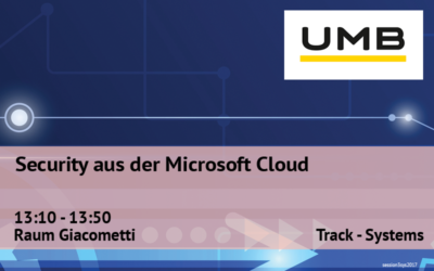 Security aus der Microsoft Cloud