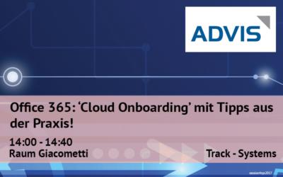 Office 365: «Cloud Onboarding» mit Tipps aus der Praxis!